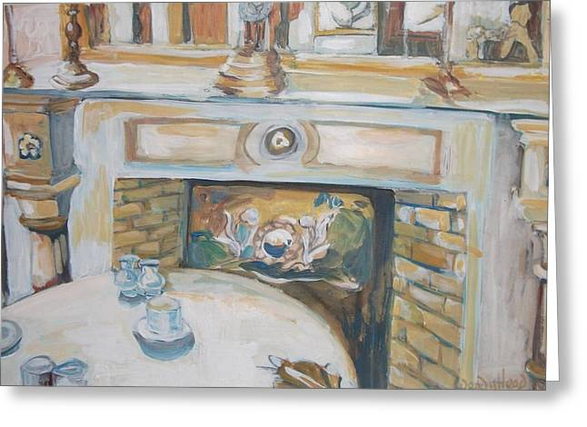 Interior Still Life Paintings Greeting Cards - Interior 2 Greeting Card by Wendy Head