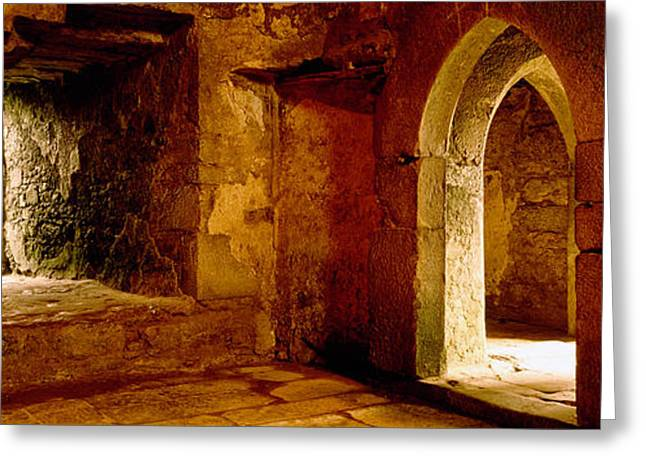 County Cork Greeting Cards - Interiors Of A Castle, Blarney Castle Greeting Card by Panoramic Images