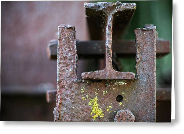 Antique Ironwork Greeting Cards - Strength with Grace Greeting Card by Jeff Mize