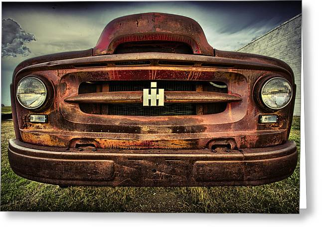 Harvester Greeting Cards - International Harvester Greeting Card by Thomas Zimmerman