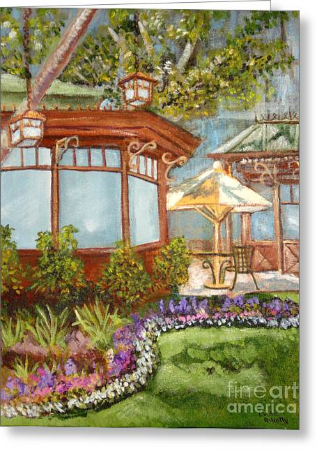 Linda Queally Greeting Cards - Intimate Americana Greeting Card by Linda Queally