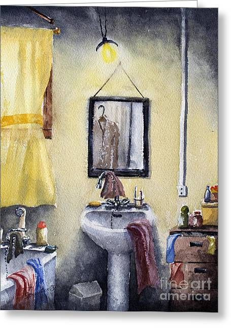 Disorder Paintings Greeting Cards - Intimate Disorder Greeting Card by Dominique Serusier