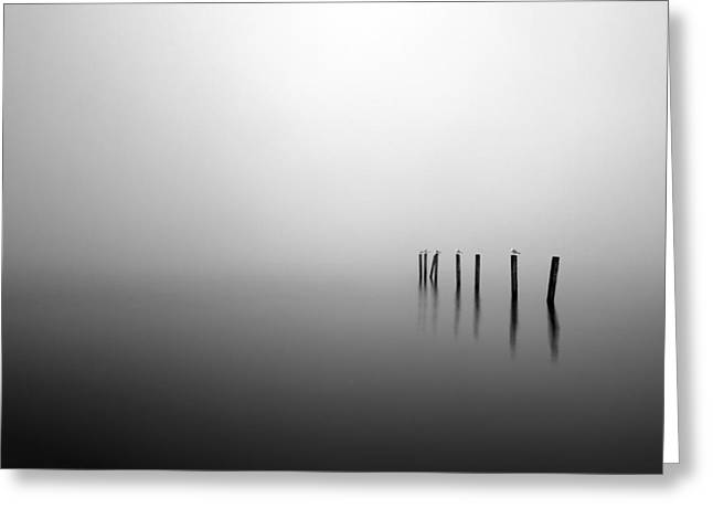Scottish Scenic Greeting Cards - Into the Abyss Greeting Card by Grant Glendinning