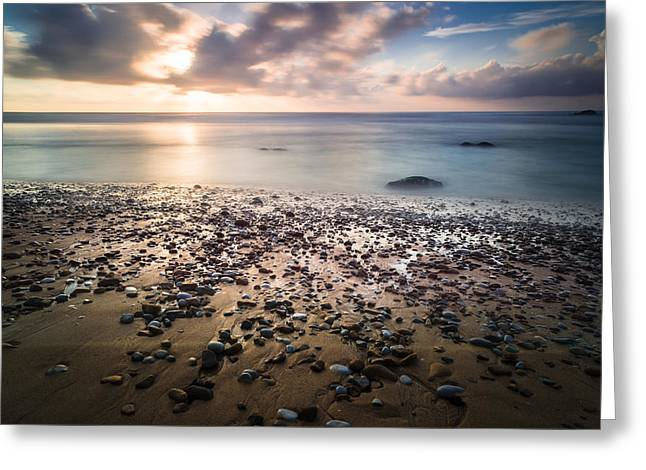 Gloaming Photographs Greeting Cards - Into The Blue V Greeting Card by Marco Oliveira