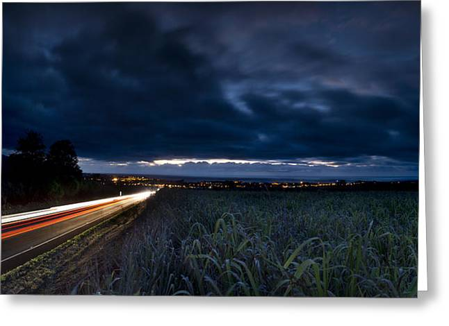 Traffic Lights Greeting Cards - Into The Cane Fields Greeting Card by Sean Davey