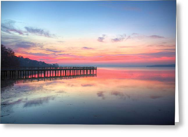 Md Greeting Cards - Into the Chesapeake  Greeting Card by JC Findley