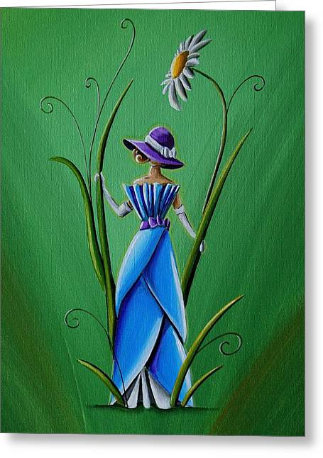 20 Greeting Cards - Into The Garden Greeting Card by Cindy Thornton