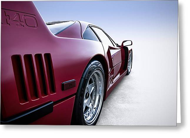 Supercar Greeting Cards - Into the Great Wide Open Greeting Card by Douglas Pittman