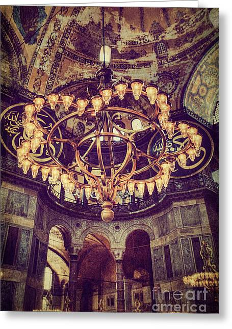 Aya Sofia Greeting Cards - Into the Light Greeting Card by Emily Kay