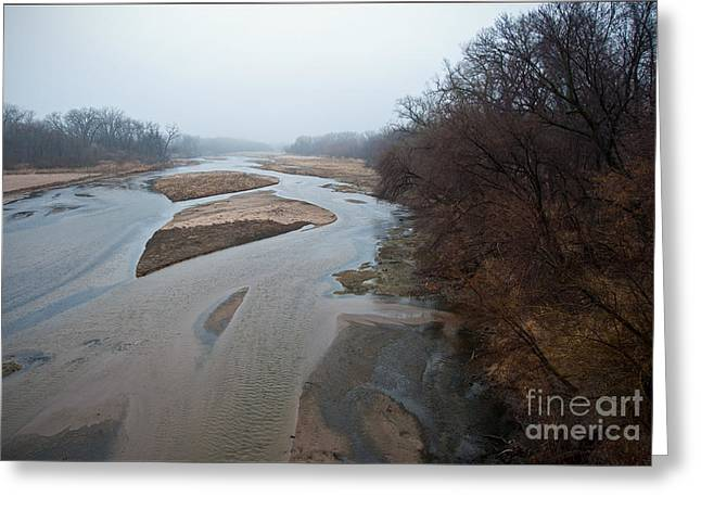 Into the Mist Greeting Card by Fred Lassmann