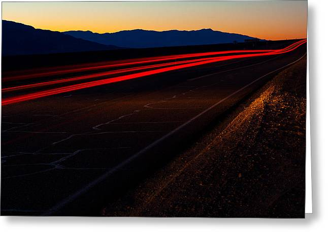 Jmp Photography Greeting Cards - Into The Night Greeting Card by James Marvin Phelps