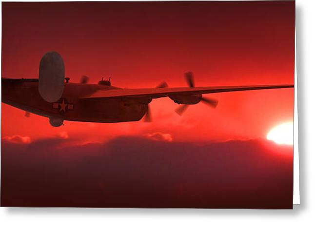 Into The Sun Greeting Card by Mike McGlothlen