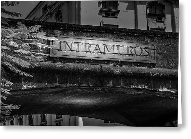 Asien Greeting Cards - Intramuros - Manila - Philippines Greeting Card by Colin Utz