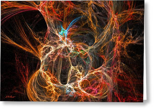Intrigue Greeting Card by Michael Durst