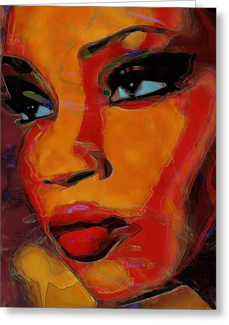 Intuition Greeting Card by  Fli Art