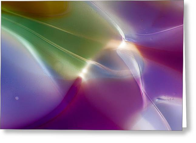 Art Blown Glass Photographs Photographs Photographs Greeting Cards - Intuition Greeting Card by Omaste Witkowski