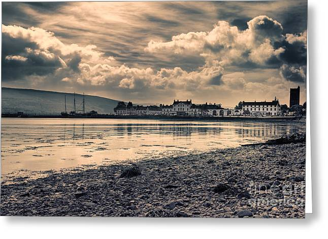 Campbell Clan Greeting Cards - Inveraray Bay Greeting Card by Kype Hills
