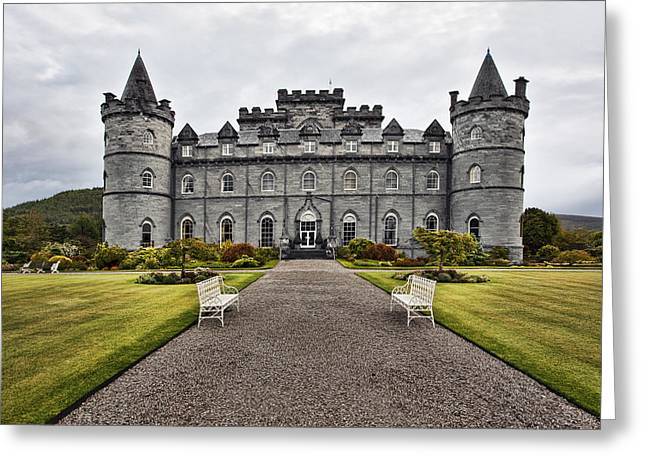 Campbell Clan Greeting Cards - Inveraray Castle Argyll Greeting Card by Marcia Colelli