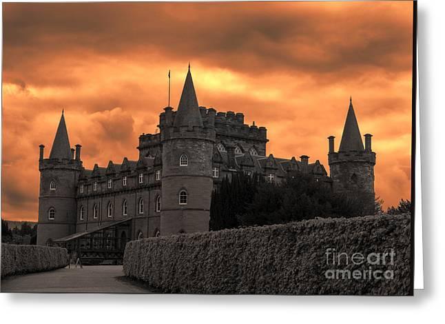 Inveraray Castle Scotland Greeting Card by Juli Scalzi
