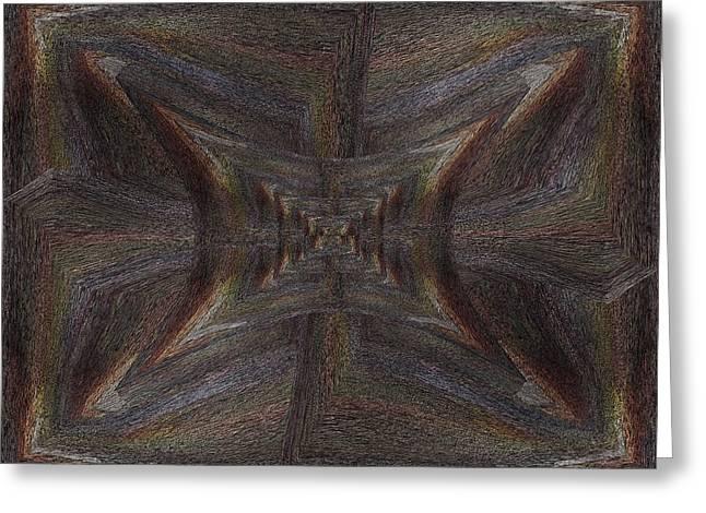 Inward Greeting Cards - Inward Outward Greeting Card by Tim Allen