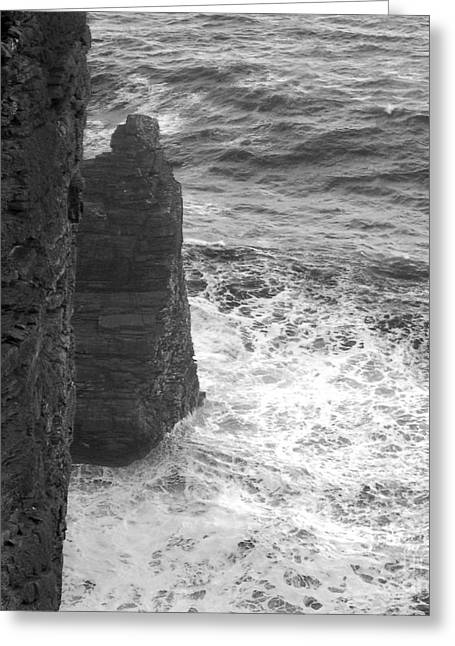 Overhang Greeting Cards - Sugar Loaf Greeting Card by Paul Davenport