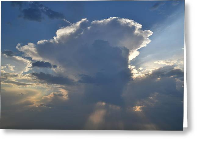 Thunderhead Greeting Cards - Iowa Thunderhead Greeting Card by Ray Mathis