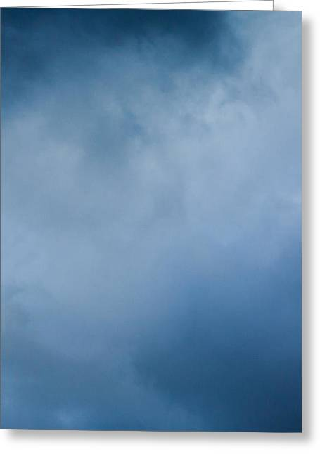 Mobile Designs Greeting Cards - iPhone Case - Stormy Clouds Greeting Card by Alexander Senin