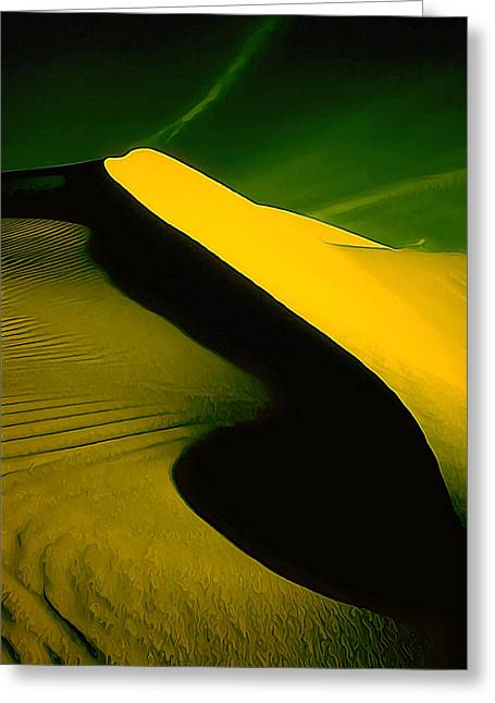 Sand Art Greeting Cards - IR Dune 2 Greeting Card by Bill Caldwell -        ABeautifulSky Photography
