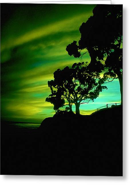 California Art Greeting Cards - IR Sunset Greeting Card by Bill Caldwell -        ABeautifulSky Photography