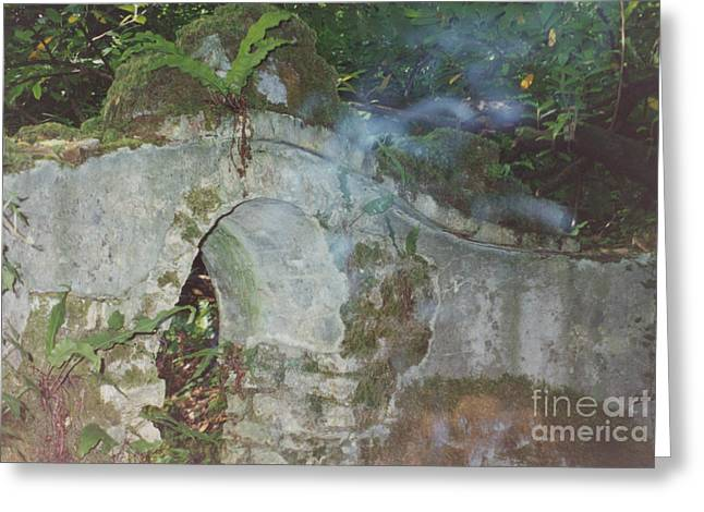Ghastly Greeting Cards - Ireland Ghostly Grave Greeting Card by First Star Art