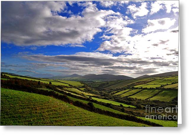 Must Have Greeting Cards - Ireland Landscape  Greeting Card by Aleksey Lavochin