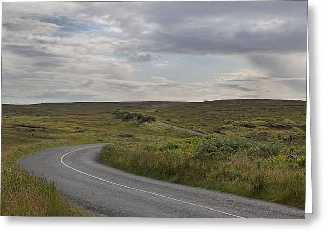 Paradise Road Greeting Cards - Ireland Paradise Greeting Card by Betsy C  Knapp