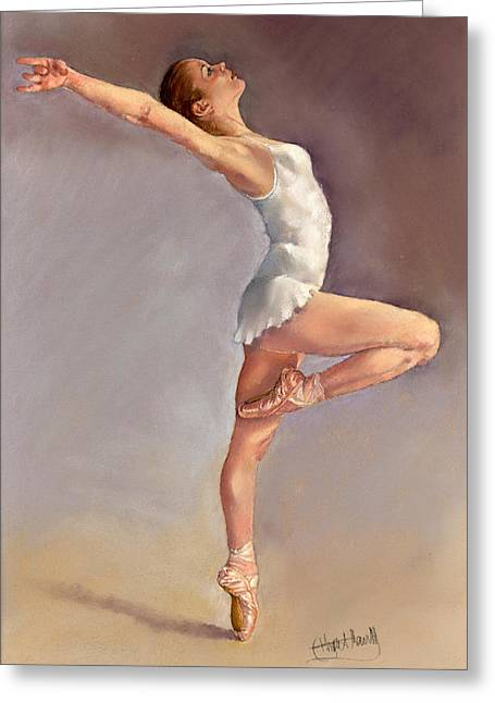 Ballet Dancers Greeting Cards - Irina Greeting Card by Margaret Merry