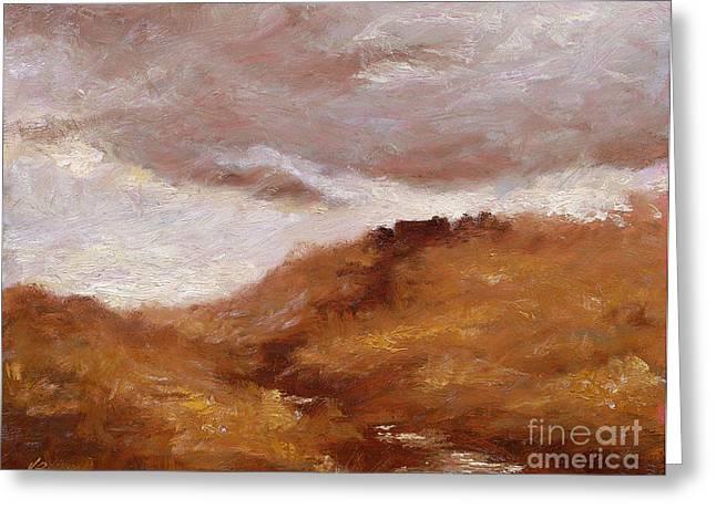 Storm Prints Greeting Cards - Irish Landscape I Greeting Card by John Silver