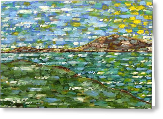 Matisse Greeting Cards - Irish Landscape Greeting Card by Patrick J Murphy