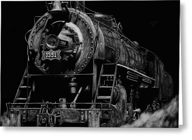 Photorealism Greeting Cards - Iron Horse Greeting Card by Heather Ward