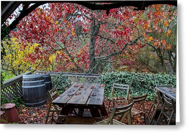 Tasting Rooms California Greeting Cards - Iron Horse Winery II Greeting Card by Gej Jones