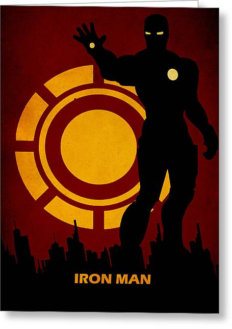 Lex Luthor Digital Greeting Cards - Iron Man Greeting Card by FHTdesigns