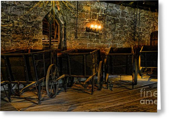 Ore Greeting Cards - Iron Ore Carts Greeting Card by Paul W Faust -  Impressions of Light