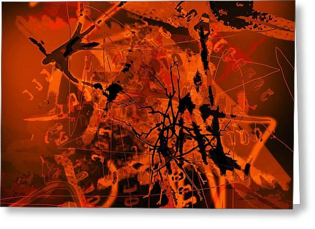 Bipolar Digital Art Greeting Cards - Is She Suicidal Greeting Card by Rois Bheinn
