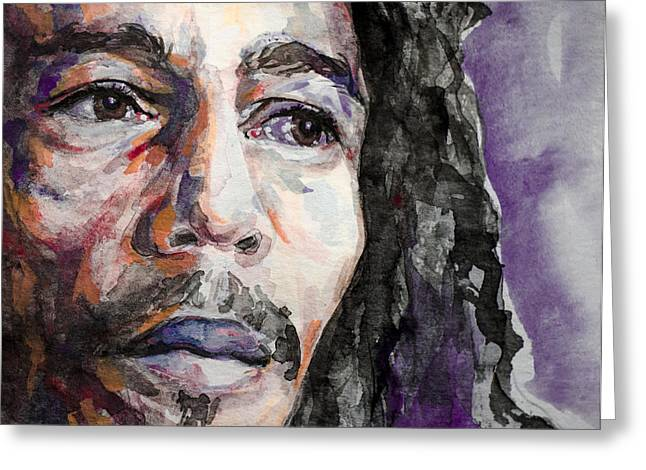 Bob Marley Artwork Greeting Cards - Is This Love Greeting Card by Laur Iduc