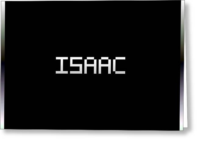 Print Greeting Cards - Isaac.1.2 Greeting Card by Gareth Lewis
