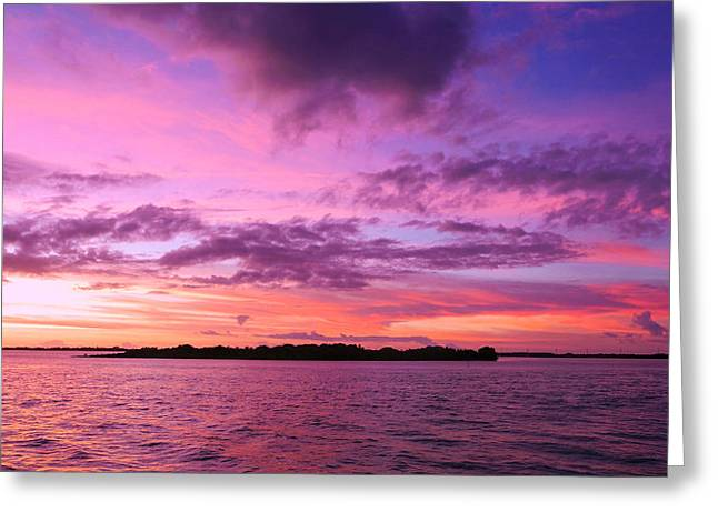 Isla Morada Greeting Cards - Isla Morada Greeting Card by Jose Poten
