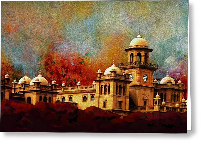 Pakistan Greeting Cards - Islamia College Lahore Greeting Card by Catf