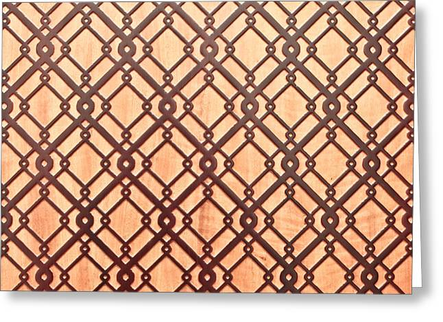 Geometric Photographs Greeting Cards - Islamic pattern Greeting Card by Tom Gowanlock