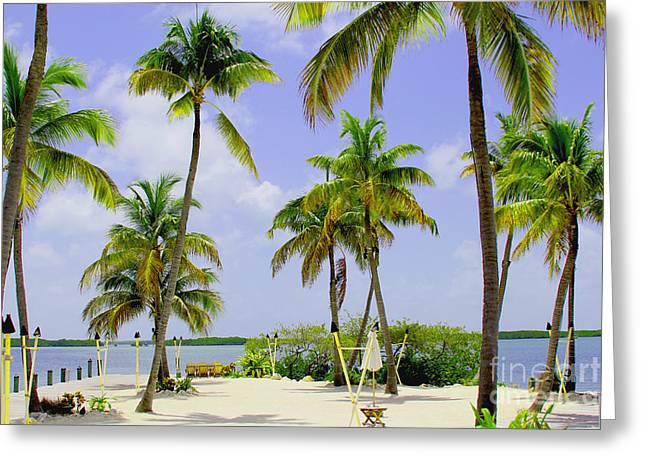 World Wide Sportsman Greeting Cards - Islamorada Greeting Card by Carey Chen