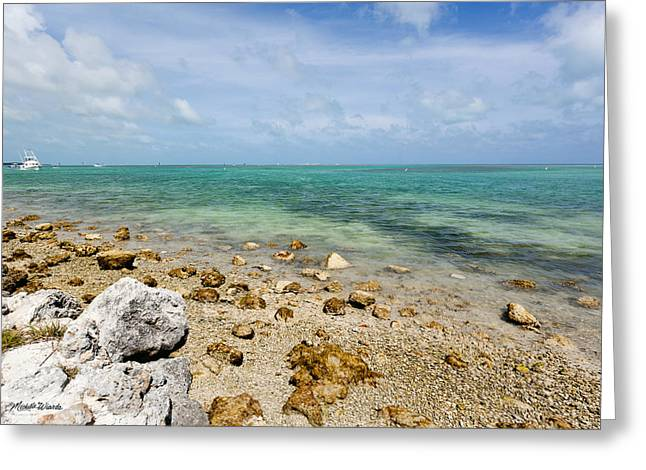 Islamorada Greeting Cards - Islamorada Ocean Side Greeting Card by Michelle Wiarda