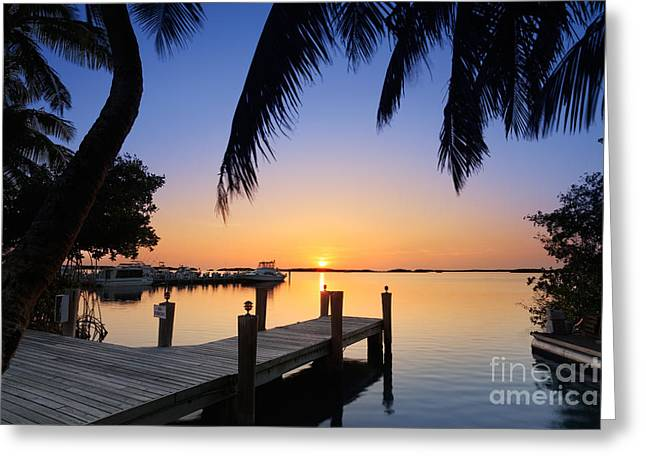 Islamorada Greeting Cards - Islamorada Greeting Card by Rod McLean