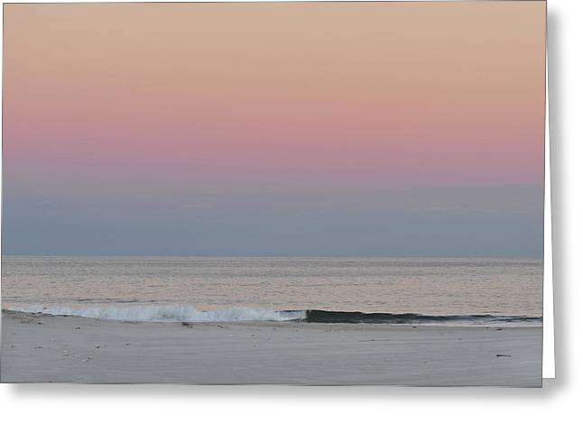 Bathroom Prints Greeting Cards - Island Beach State Park NJ at Dusk Greeting Card by Terry DeLuco