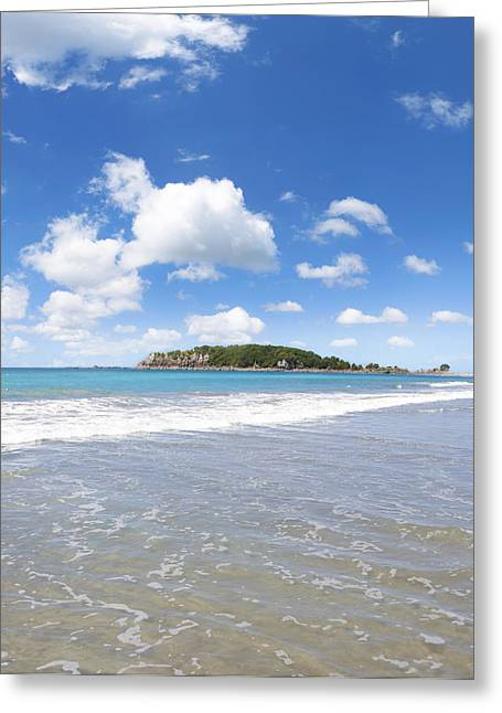 Beach Photos Greeting Cards - Island bliss Greeting Card by Les Cunliffe